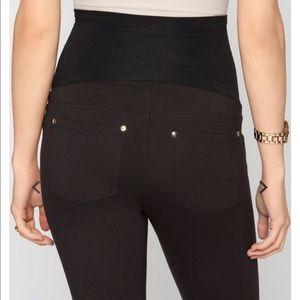 Black Maternity trouser legging